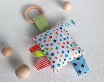 Small sensory play with rattle