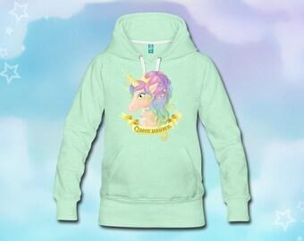 Queen Unicorn Hoodie