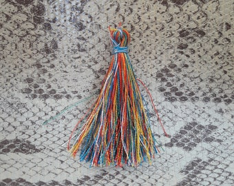 Multicolor 45 mm cotton tassel
