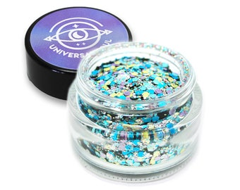 Radio Star - Biodegradable Glitter Chunky - Eco Glitter - Mermaid Glitter - Cosmetic Glitter - Body Glitter - Bio glitter