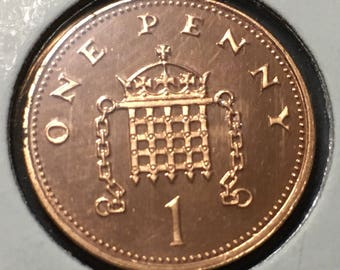 1 x 1996 - 1 Pence - Proof Quality