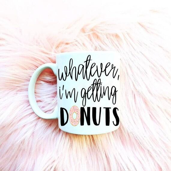 Cute donut mug