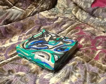 Hand painted gift box