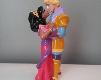 Disney's Esmeralda & Phoebus Ceramic Figurine