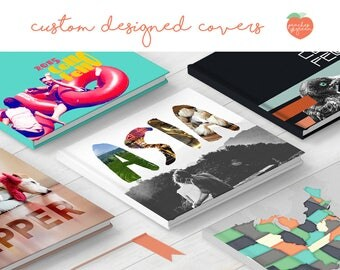 Custom cover design - one-of-a-kind design for your Custom Photo Book purchase