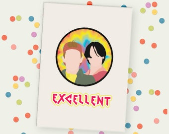 Bill & Ted Unframed Print