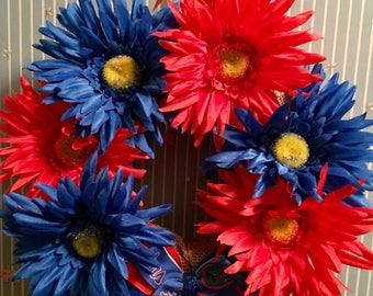 College Mini Wreath