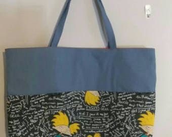 Hey Arnold! tote bag