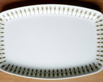 Vintage Figgjo Flint 'Mecca' Serving Platter Dish Norway Pottery Mid Century Design 1950's