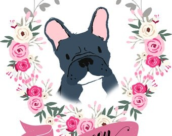 DIGITAL DOWNLOAD - Custom PET Portrait