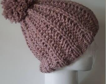 Powder Pink Hat