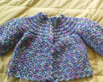 Crochet Baby Sweater