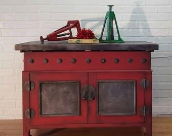 custom built concealment furniture gun cabinet industrial chic tv stand