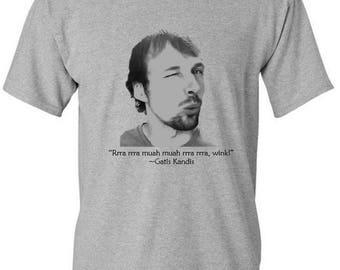 Gatis Kandis - Rrra Muah Wink! T-shirt