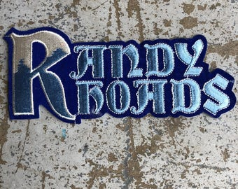 Randy Roads Patch