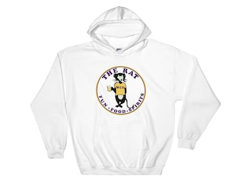 THE RAT, West Chester PA Hooded Sweatshirt