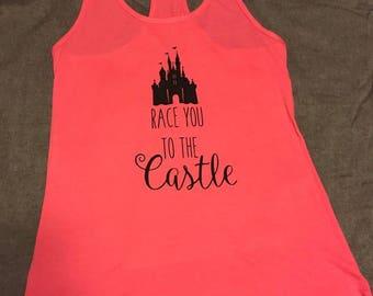 Race to the Castle Disney Racerback