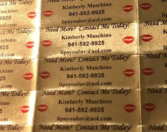 """GOLD """"Need More"""" Labels & GOLD """"Tester"""" Labels (100 labels per sheet)"""