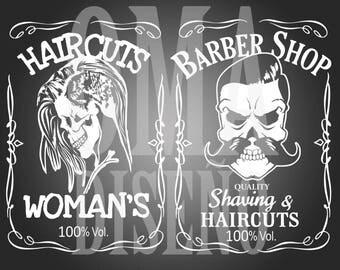 Barber Shop (Barber) SVG/DXF/Eps/Png/JPG