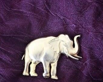 Vintage JJ Jonette Elephant Brooch