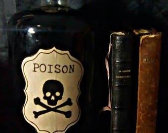 """Bottle of """"Poison""""."""