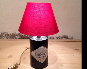 Lamp bottle Hendrick's Gin hand (recycled / Upcycled)