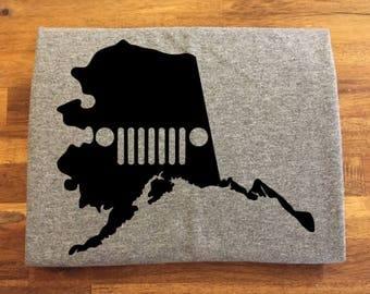 Alaska Jeep Shirt