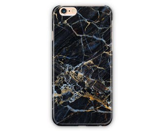 Black, Blue, Gold Marble Phone Case for iPhone 8 / iPhone 7 / 7Plus, iPhone 6/6Plus iPhone5 Samsung Galaxy S7/7 edge / S6 / S6 edge/S5