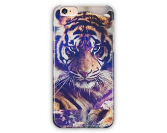 Animal Tiger Phone Case for iPhone 8 / iPhone 7/7Plus, iPhone 6/6Plus iPhone5 Samsung GalaxyS7/7edge/S6/S6 edge/S5