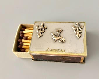Vintage matchbox holder