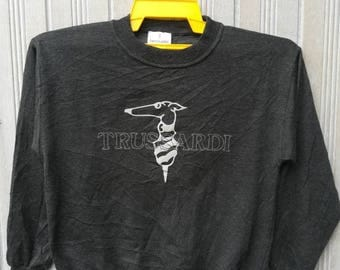 Vintage Trussardi Sweatshirt Size L