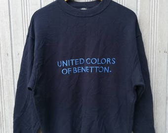 United Colors of Benetton Sweatshirt Size S Made in Italy