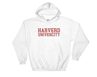 Harverd Univercity Hooded Sweatshirt