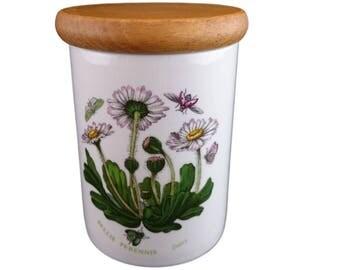 Botanic Garden 4 inch storage jar from Portmeirion