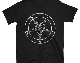 Sigil of Baphomet- Short-Sleeve Unisex T-Shirt