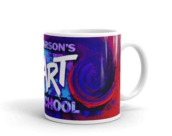 Mug from Carson's Art School