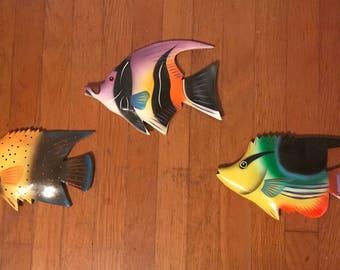 Wall decor tropical fish