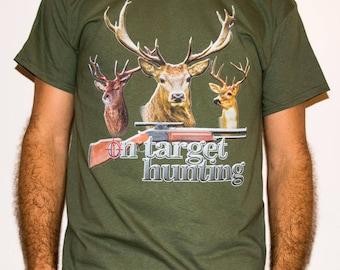 On Target Hunting / HNT 3 - Hunting Man T-shirt