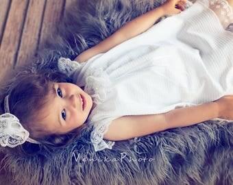 christening dress in white