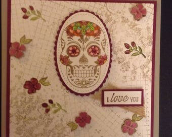 "Sugar Skull, ""I Love You"""