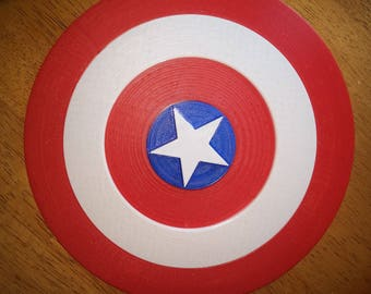 Captain America Shield/Cosplay/3D Print/3D Printed/Shield/Marvel/Gift-For-Men/Gift for Her/Gift for Him