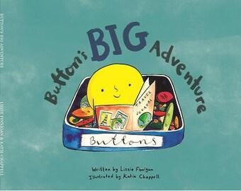 PRE-ORDER Button's Big Adventure - Children's rhyming picture book
