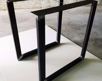 pied de table industriel etsy. Black Bedroom Furniture Sets. Home Design Ideas