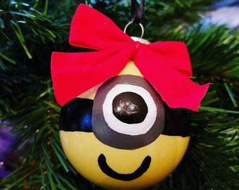 Hand Painted Minion Ornament