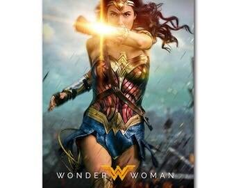 Wonder Woman Gal Gadot 4 Top quality 21x31 inch silk poster custom sizes