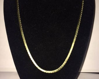 """Gold Necklace 18"""""""