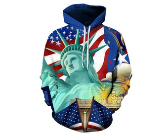 Usa Hoodie, Usa Sweatshirt, Usa Sweater, American Hoodie, American Sweatshirt, Hoodie Art, Hoodie Pattern, Hoodie, 3d Hoodie - Style 1