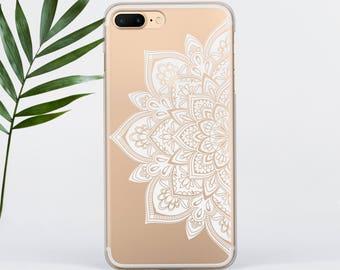 iPhone X Case iPhone 8 Case Mandala iPhone 7 Case Floral iPhone 7 Plus iPhone 6s Case iPhone SE Case Galaxy S8 Case Galaxy S8 Plus PC012