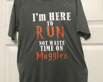 Harry Potter shirt, Run Muggles