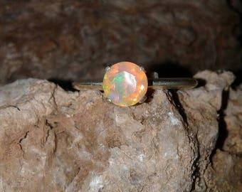 Ethiopian Opal Ring S65